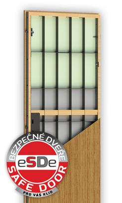 Bezpečnostní dveře eSDe